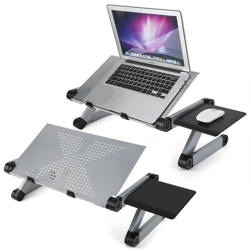 Складной стол для ноутбука, регулируемый компьютерный стол, подставка, поднос, кровать, диван, досуг, дизайн, подставка для ноутбука, стол для ультрабука