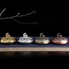 2016 New Design Metal Dragon Incense Burners Coil Censer Sandalwood Gifts And Crafts Home Decorations buddhist incense Holder