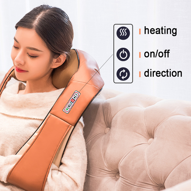 Revolt Electrical Heat Neck Massager 6