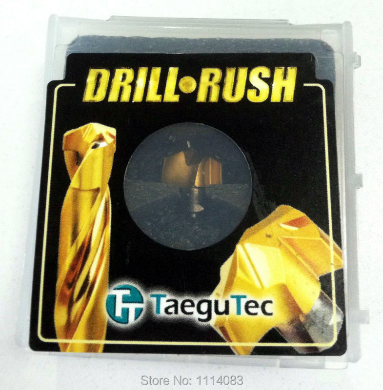 TCD 140-144-16T3-8D 1pc + TCD-140-P TT9080 - 2PCS Taegutec Carbide Drill Rush 100% original cook100 140 3 35g