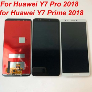 Image 4 - Original AAA For Huawei Y7 2018 / Y7 Pro 2018 / Y7 Prime 2018 LCD Display +Touch Screen Digitizer Assembly Replacement +Frame