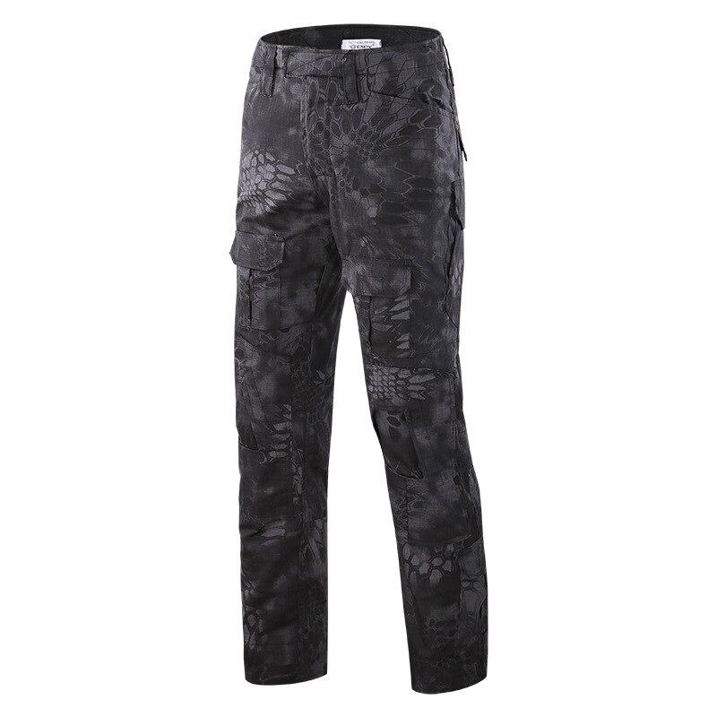 2019 Moda Camouflage Militare Tattico Pantaloni Uniforme Militare Dell'esercito Pantaloni Paintball Del Airsoft Di Combattimento Pantaloni Cargo