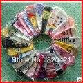24 PCS = 12 pairs Frete grátis nova queda de kawaii dos desenhos animados chinelos meias bonito meias calcetines kawaii