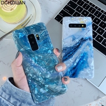 DCHZIUAN Conch Shell Marble Phone Cases For Samsung Galaxy S10 Plus S10 Case Cover For Samsung S8 S9 Plus Note 8 9 Silicone Case