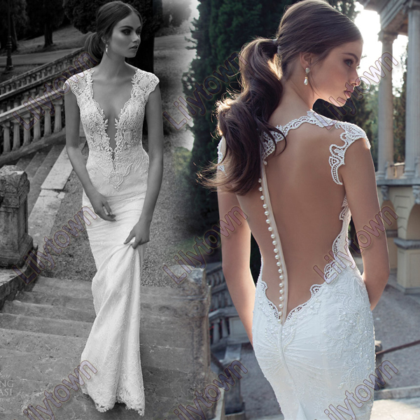 Lace back wedding dress designers – Dress blog Edin