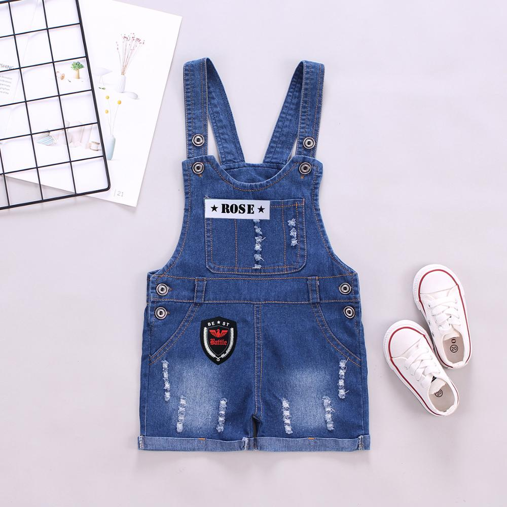Baby Pants Spring Autumn Baby Boys Girls Overalls Pants Kids Boys Denim Bib Pants Toddler Girls Jeans Jumpsuit Clothes(China)