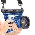 Новый TteooBL GQ-518 SLR DSLR HD 20 М Водонепроницаемый мешок Камеры Подводные Сухой Корпус Чехол Для Nikon Canon Sony дайвинг