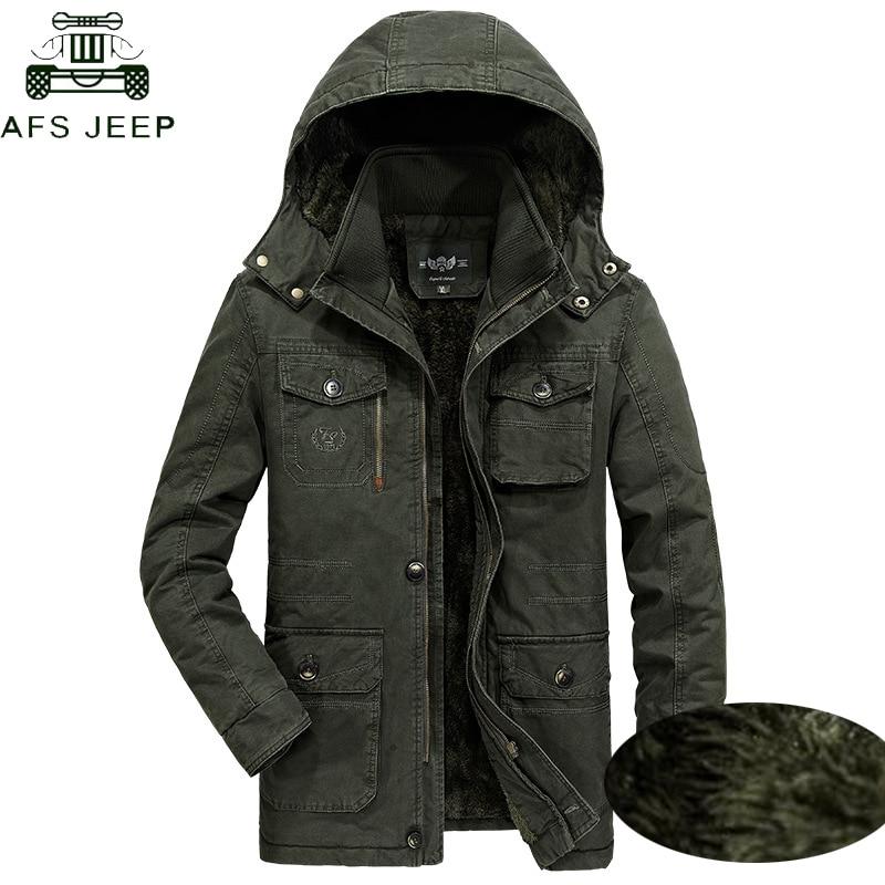 MAZF Winter Warm Down Jacket for Men