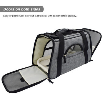 Carrier for Dogs Travel Cat Carrier  Safety Reflective  2