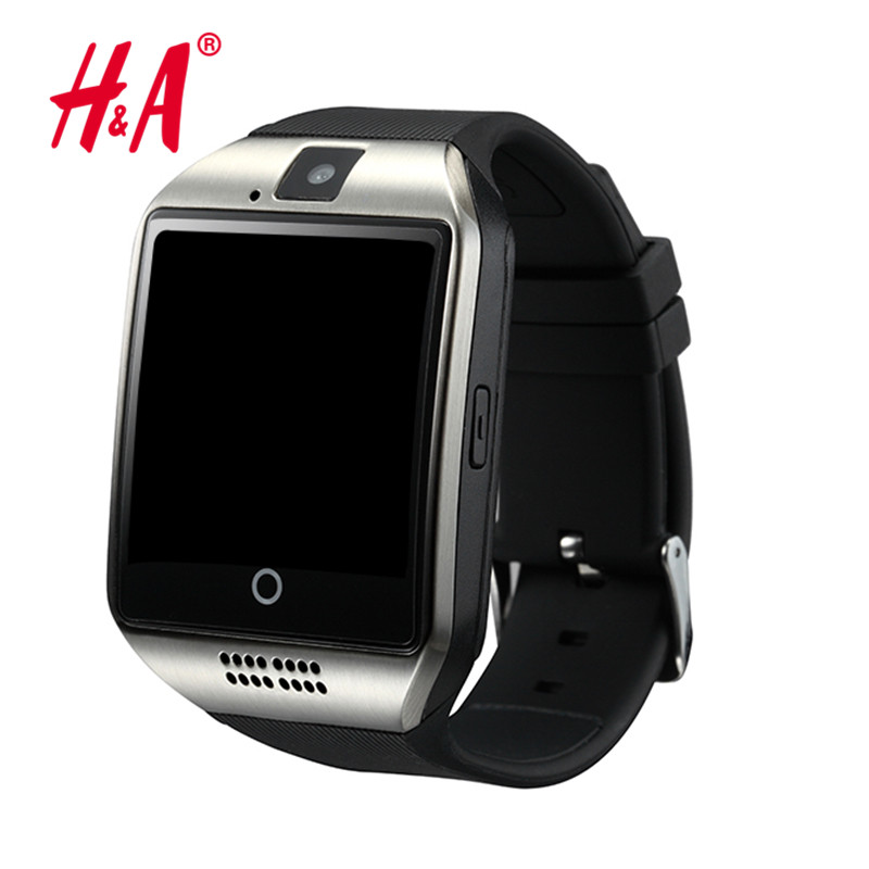 Bluetooth Smart Watch Q18 Watch With Camera Facebooks Twitter Smartwatch Support Sim TF Card For Apple
