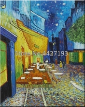 DIY 5D Full Diamond Embroidery Cafe La Nuit square Painting Cross Stitch Van Gogh painting Kit Mosaic Home Decor