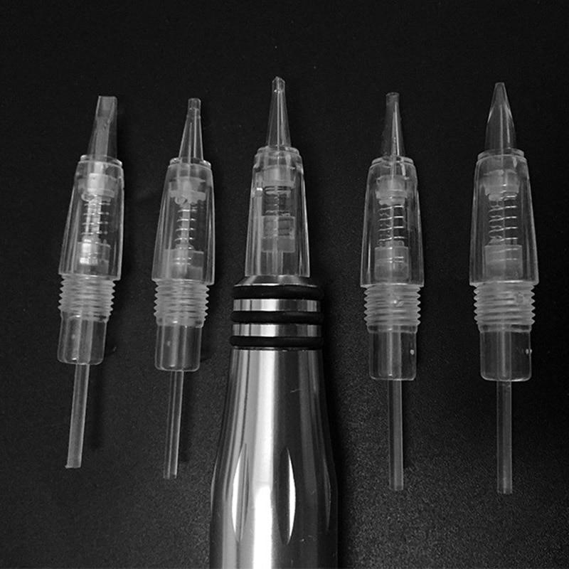 (100PCS) Smink Tűk Szakmai Állandó Smink Tintapatronok tűk a - Tetoválás és testmûvészet