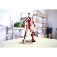 XINDUPLAN Marvel Shield iron Man Mark Avengers Age of Ultron mk43 Lighting Action Figure 30cm Large PVC Gifts Collect Model 0935