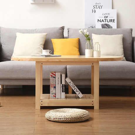 Конец столы мебель для гостиной, твердая деревянный журнальный стол придиванный столик мез гостиная чайный стол 120*60*53 см Меса де centro