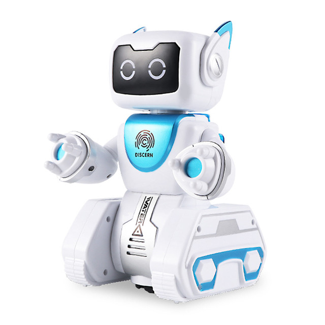 Hydroelectric Power Interactive Remote Control Robot Automatic Steering Toy Gift Kid Child Christmas Gift Fun Cute Eject