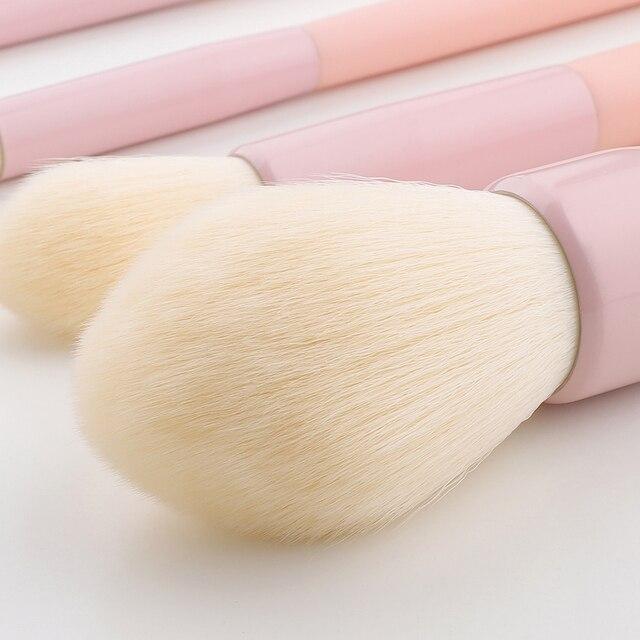 FLD Professional Colorful Makeup Brush Set Powder Eye Face Brushes Set Foundation Eyebrow Make Up Brushes Set 4