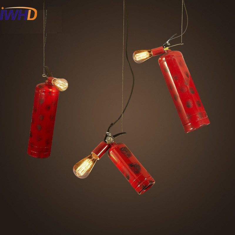 Lighting Shop Near Epping: Vintage Pendant Lights Loft Pendant Lamp Retro Iron Fire