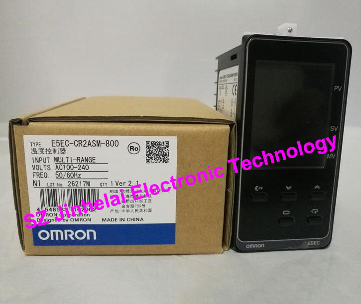 OMRON Temperature controller E5EC-CR2ASM-800  New and original AC100-240V