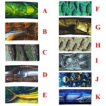 Promotion! 10 Colorful Fishing Scarf Seamless Fish Pattern Outdoor Bandanas Fishing Tube Carp Fishing Pesca Acesorios Headwear