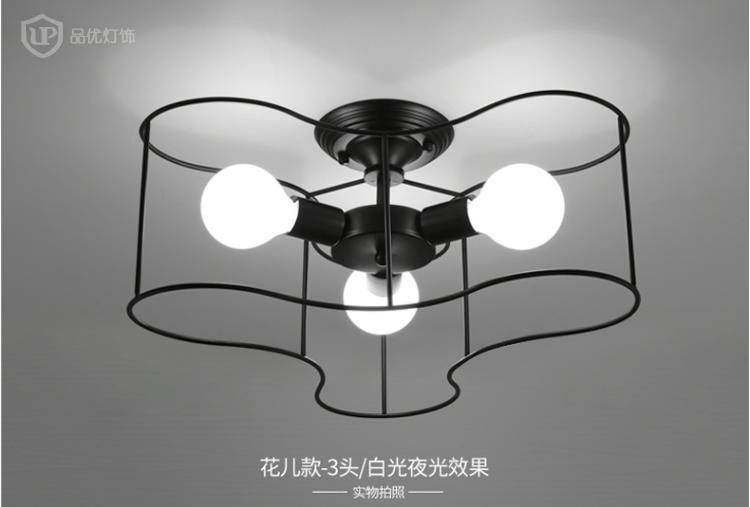 A1 Modern simple creative personality lighting pendant light restaurant lamp living room lamp LED ceiling lamp ZL277 industry 9mm female thread quick coupler connector for 4mm inner dia tube