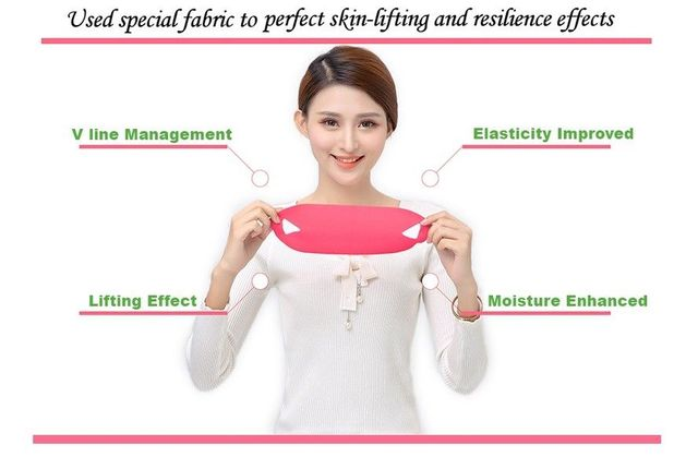 Korea Cosmetic Avajar Perfect V Lifting Premium Mask 1pcs V-Shape Jawline Mask Face Firming Lift Up Jawline Management Effect 3