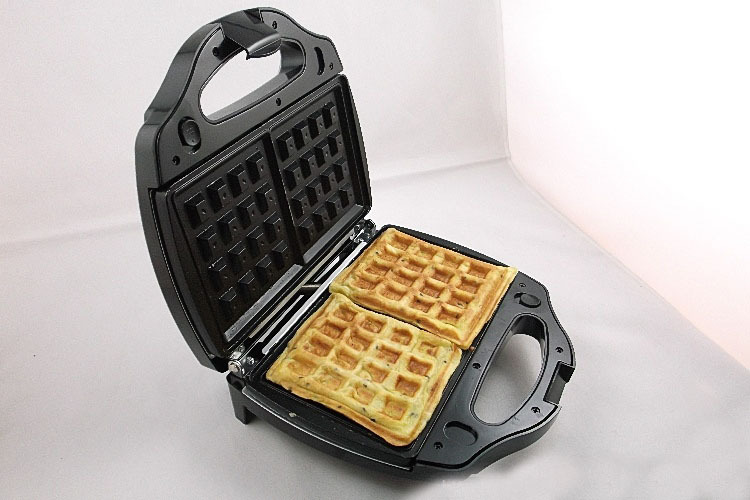 factory double heating plate electric commercial waffle cone makerchina