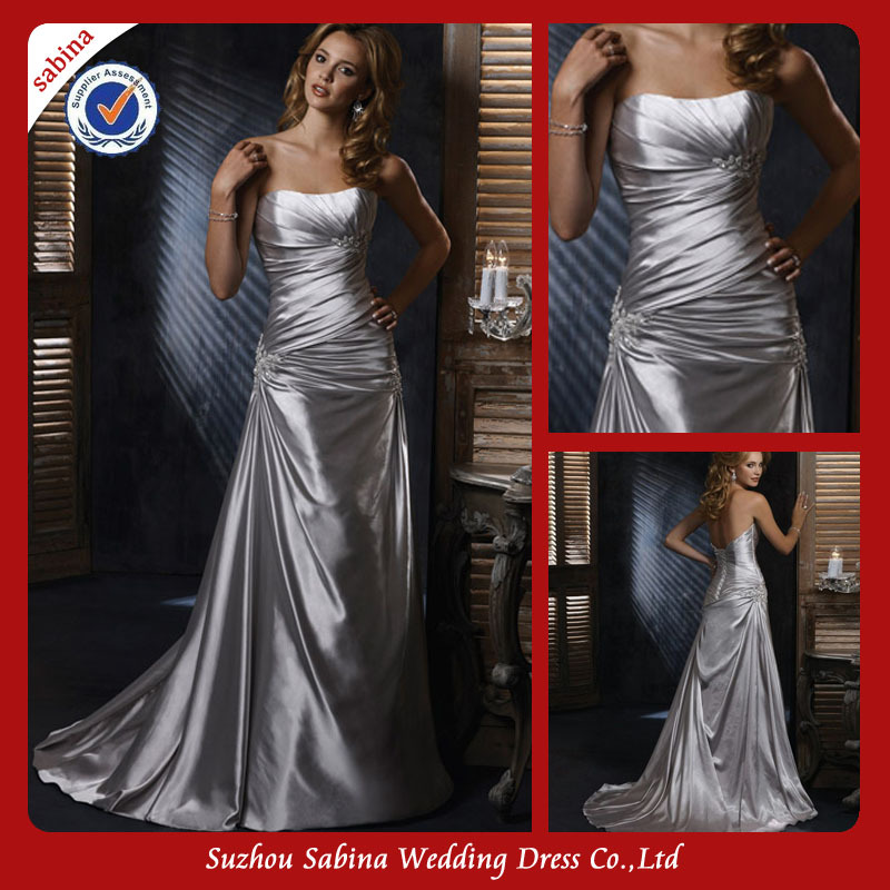 US $168 0 |Sh0409 Modern Bride Wedding Dress Sleeveless Wedding Dresses  Turkey Istanbul-in Wedding Dresses from Weddings & Events on Aliexpress com  |