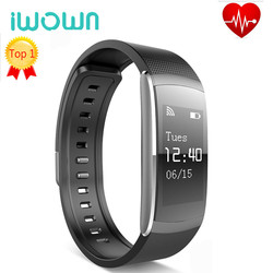 Original iwown I6 PRO Smartband Smart Wristband Heart Rate Monitor IP67 Smart Bracelet Fitness Tracker for Andriod 4.4 Ios
