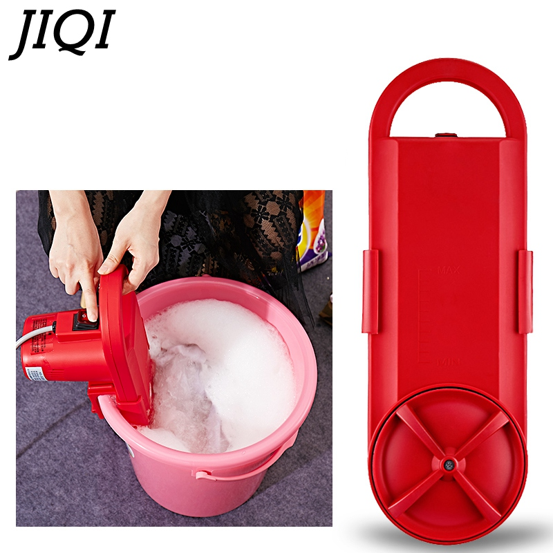JIQI Mini Portable washing machine electric clothes washing cleaning device student dormitory rent room household 110V