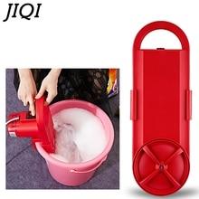 JIQI Мини Портативная стиральная машина, электрическое устройство для мытья одежды, устройство для чистки студенческого общежития, арендная комната, бытовая 110 В/220 В
