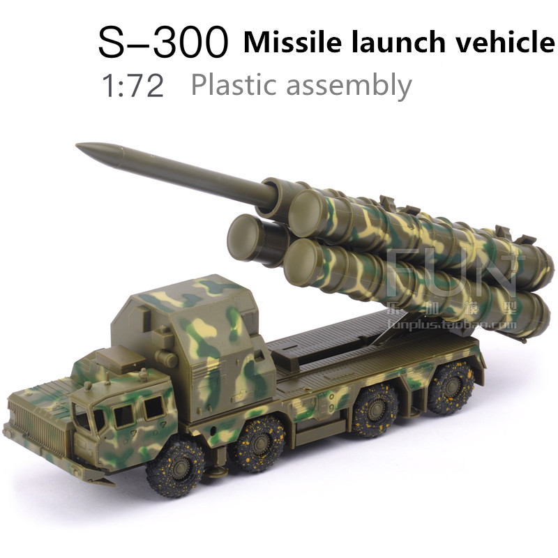 1:72Plastic Assembled Missile Launcher Toys,S300 Surface To Air Missile System Model,Educational Toys, Boys Gifts, Free Shipping
