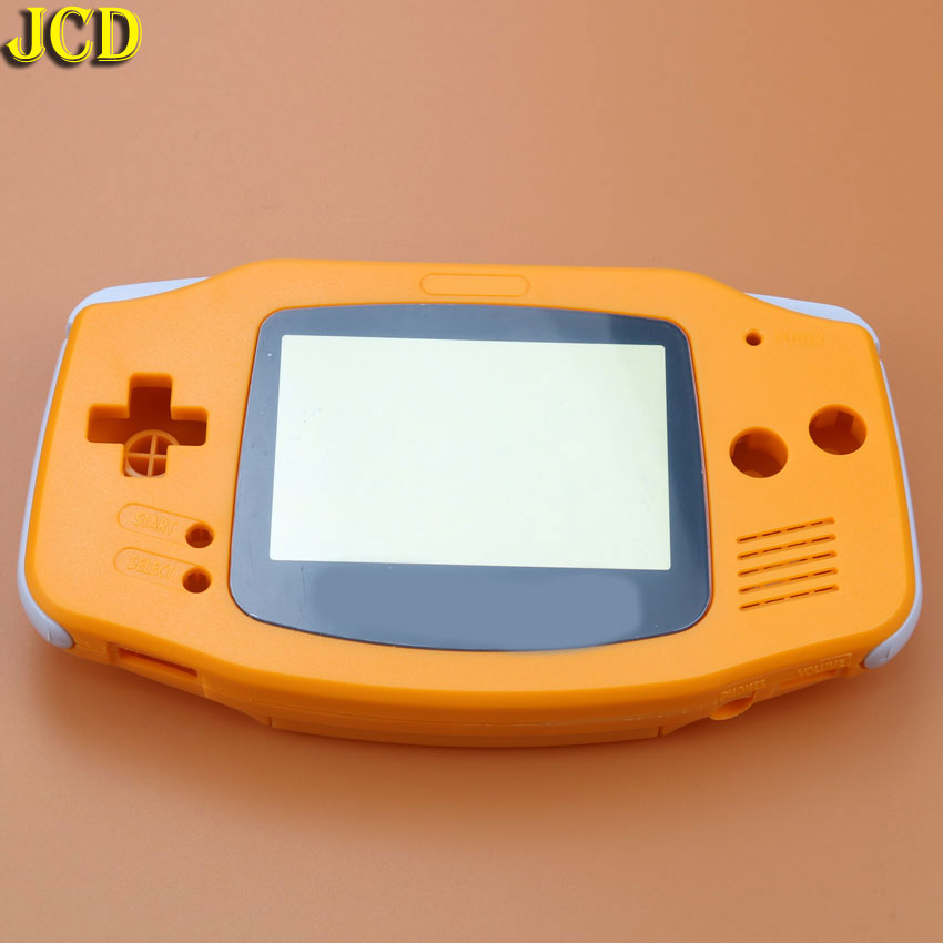 Image 5 - JCD 1 шт. Пластиковая крышка корпуса для игровая приставка GBA Корпус Корпуса + Защитная пленка для экрана + Этикетка наклейка для Gameboy Advance-in Чехлы from Бытовая электроника