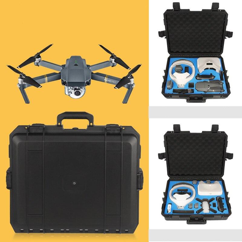 For DJI Mavic Spark Goggle VR Glasses Case Safety Box Suitcase Storage Bag Waterproof Moisture Suitcase for DJI Mavic Spark