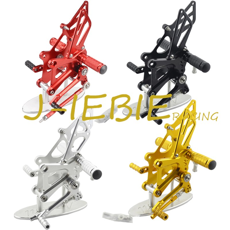 CNC Racing Rearset Adjustable Rear Sets Foot pegs Fit For Honda CBR250R CBR250 R 2011 2012 2013 2014 2015 titanium cnc aluminum racing adjustable rearset foot pegs rear sets for yamaha mt 07 fz 07 mt07 fz07 2013 2014 2015 2016