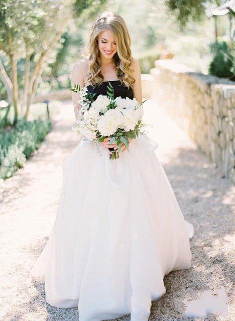 romantic gothic wedding dresses 2017 hippie style country wedding