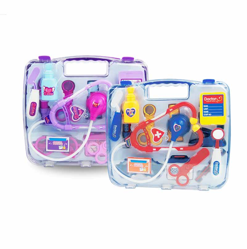 High Quality Educational Childrens Doctor Toys Hot Simulation Doctor Set Children Educational Toys Pretend Play Doctor Toys
