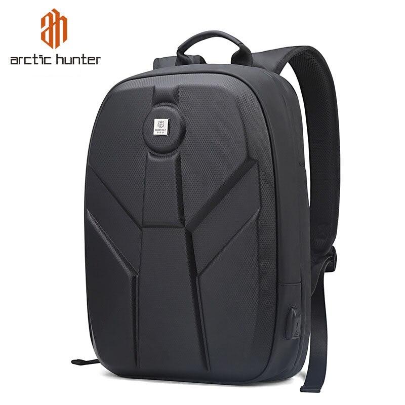 Arctique HUNTER 15.6 pouces étanche USB ordinateur portable hommes sacs Sport voyage cahier mâle sac à dos cartable décontracté Pack Mochila Bolsas