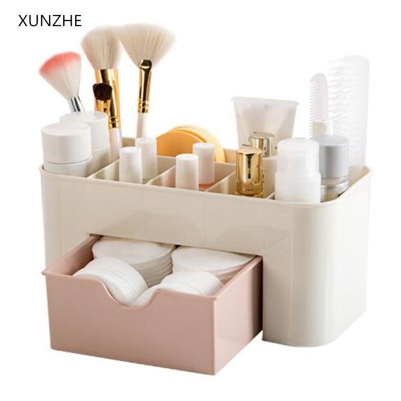 XUNZHE Drawer Cosmetics Storage Box Make