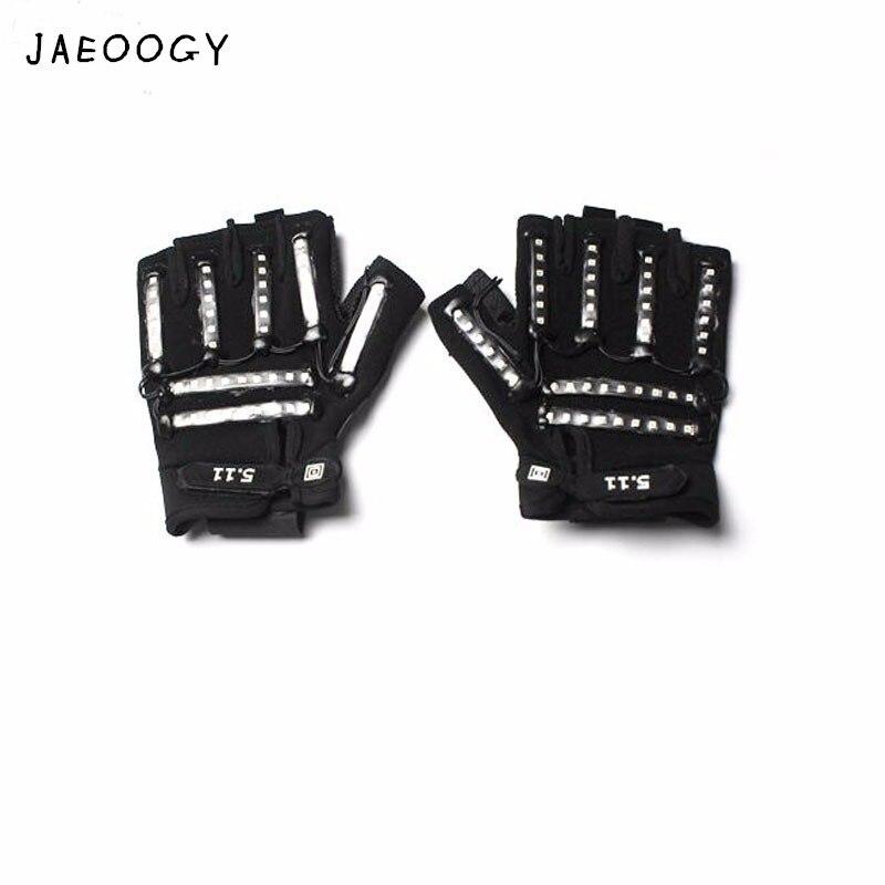 Φ_ΦEnvío libre 2018 alta calidad LED luminiscentes guantes fiesta de ...