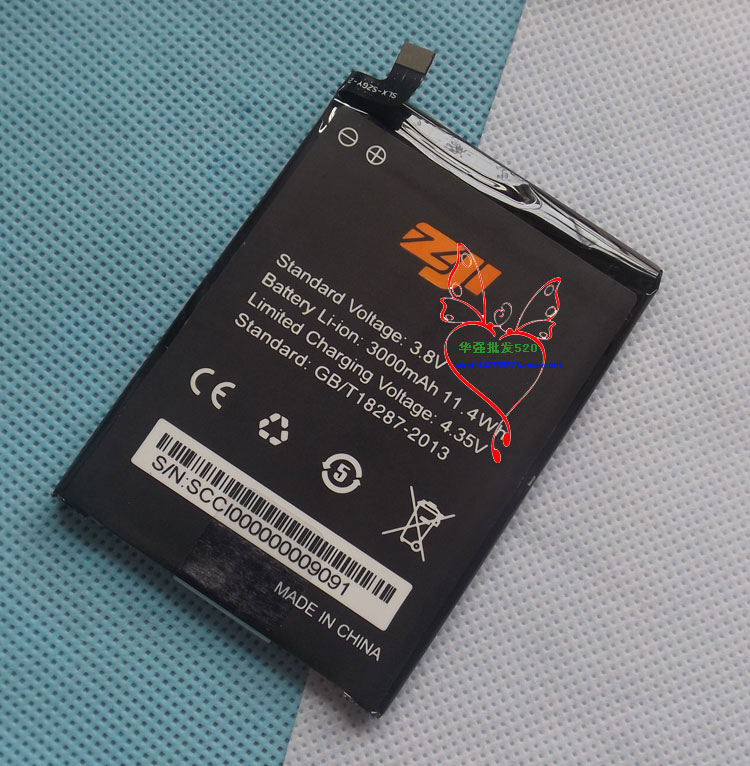 100% New Original homtomZOJI Z7 Battery 3000 mAh for homtom ZOJI Z7 Smart Phone