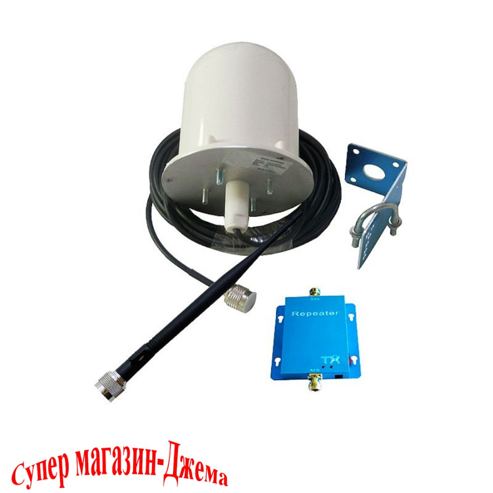 62dB GSM 3G 900Mhz Cell Phone Signal Booster Repeater Amplifier with Omni directional Tubular