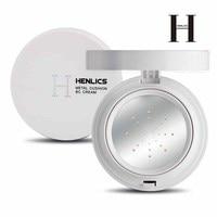 HENLICS 2 цвета мультиэффект Металл воздушная Подушка BB крем SPF30 + увлажняющий консилер Жидкая основа для макияжа корейская косметика