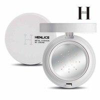 HENLICS, 2 цвета, мультиэффект, металлическая воздушная подушка, BB крем SPF30 + увлажняющий консилер, Жидкая основа для макияжа, корейская косметик...