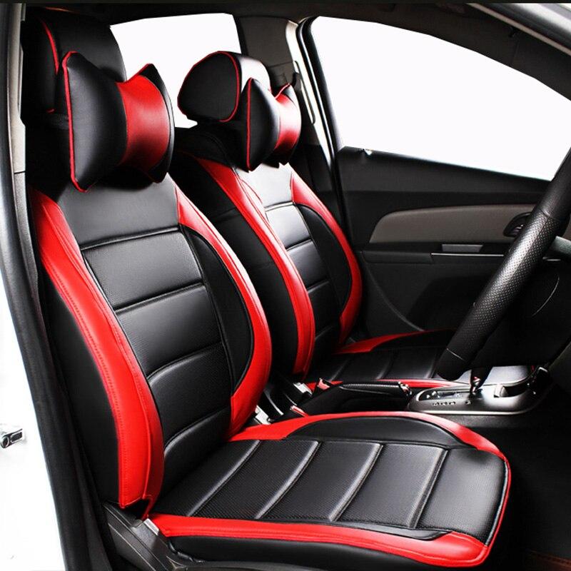 Custom Leather Car Seat Cover For Audi A3 A4 B6 B8 B7 B5 A6 C5 C6 Q5
