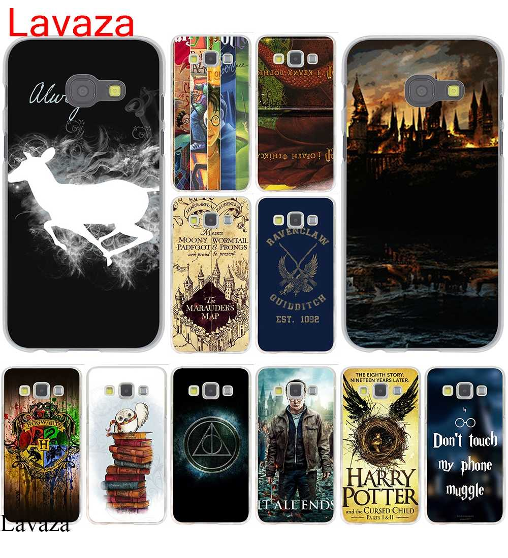 Lavaza harry potter phone Cover Hard Case for Samsung Galaxy A3 A5 2015 2016  2017 Grand 95132afde9110