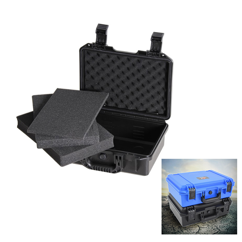 Toolbox Multi-function Portable Safety Protection Equipment Box Waterproof Case Shockproof Outdoor Wear-resistant Camera Box