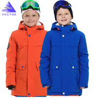 VECTOR Waterproof Children Ski Jackets Winter Warm Boys Girls Jackets Outdoor Jacket Sport Snow Skiing Snowboarding Clothing