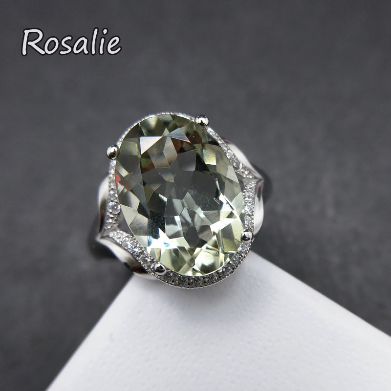 for solid quartz oval women natural ring green sterling rosalie jewelry new item gemstone design rings amethyst in from silver with