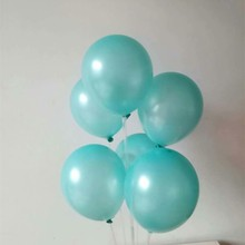 latex balloons 50pcs/lot12 inch helium thick Tiffany blue balloon inflatable wedding air ballon birthday party decor supplies