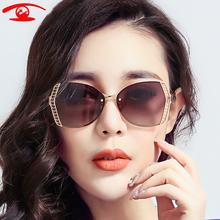 ZBZ 2016 New Summer Fashion Luxury Sunglasses Women Brand Designer Polaroid Sunglasses Color oculos de sol feminino Goggles